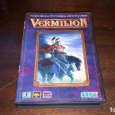 Videojuegos y Consolas: VERMILLION SEGA 1989. Lote 263011890
