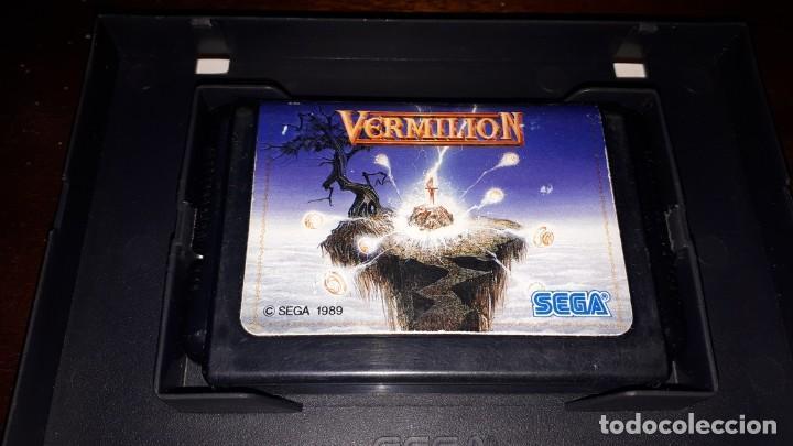 Videojuegos y Consolas: VERMILLION SEGA 1989 - Foto 3 - 263011890