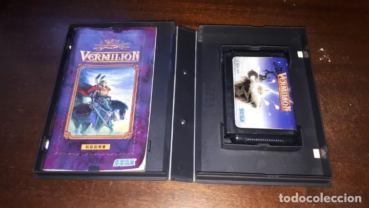 Videojuegos y Consolas: VERMILLION SEGA 1989 - Foto 4 - 263011890