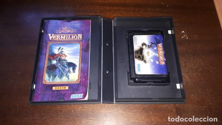 Videojuegos y Consolas: VERMILLION SEGA 1989 - Foto 6 - 263011890