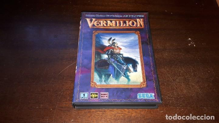 Videojuegos y Consolas: VERMILLION SEGA 1989 - Foto 7 - 263011890