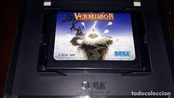 Videojuegos y Consolas: nº 2-Sega Mega Drive bermellón Japón Md-año 1989- - Foto 4 - 263012080