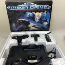 Videojuegos y Consolas: SEGA MEGA DRIVE EN SU CAJA ORIGINAL C'EST PLUS FORT QUE TOI + CORCHO + MANDO + CABLES - FUNCIONA. Lote 263742930