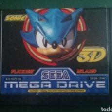 Videojuegos y Consolas: SONIC 3D ORIGINAL SEGA MEGA DRIVE PAL. Lote 264269696