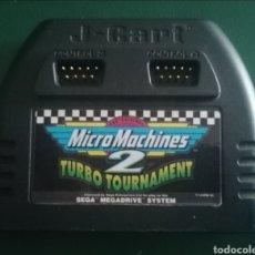 Videojuegos y Consolas: MICRO MACHINES 2 TURBO TOURNAMENT SEGA MEGA DRIVE PAL. Lote 264269940