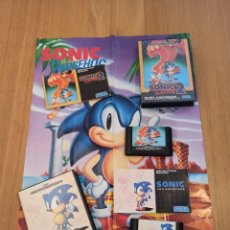 Videojuegos y Consolas: LOTE SONIC MEGA DRIVE. Lote 264505904