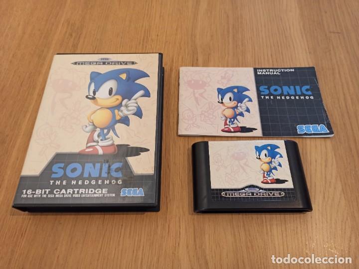 Videojuegos y Consolas: Lote Sonic Mega drive - Foto 2 - 264505904