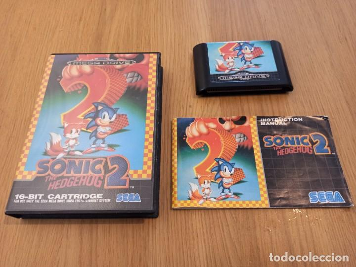Videojuegos y Consolas: Lote Sonic Mega drive - Foto 5 - 264505904