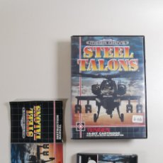 Jeux Vidéo et Consoles: SEGA MEGA DRIVE STEEL TALONS COMPLETO CON CAJA Y MANUAL BOXED. Lote 267579369