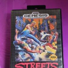 Videojuegos y Consolas: SEGA GENESIS STREETS OF RAGE 16-BIT CARTRIDGE EN EXCELENTE ESTADO. Lote 267639249