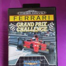 Videojuegos y Consolas: SEGA MEGADRIVE FERRARI GRAND PRIX CHALLENGE 16-BIT CARTRIDGE MEGA DRIVE EXCELENTE ESTADO. Lote 267710394
