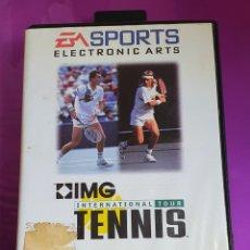 Videojuegos y Consolas: MEGADRIVE TENNIS INTERNACIONAL TOUR IMG SPORTS ELECTRONIC ARTS MEGA DRIVE. Lote 267711494