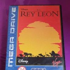 Videojuegos y Consolas: SEGA MEGADRIVE EL REY LEÓN DISNEY MEGA DRIVE. Lote 267713249