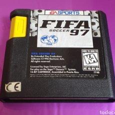 Videojuegos y Consolas: SEGA MEGA DRIVE FIFA SOCCER 97 SPORTS MEGADRIVE SÓLO CARTUCHO EXCELENTE ESTADO. Lote 268745809