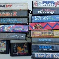 Videojuegos y Consolas: SEGA MEGADRIVE - LOTE DE 15 JUEGOS - VER FOTOS. Lote 268839064