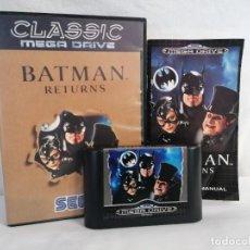 Videojuegos y Consolas: SEGA MEGADRIVE BATMAN RETURNS. Lote 268901589