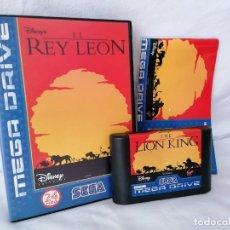 Videojuegos y Consolas: SEGA MEGADRIVE EL REY LEÓN. Lote 268901659