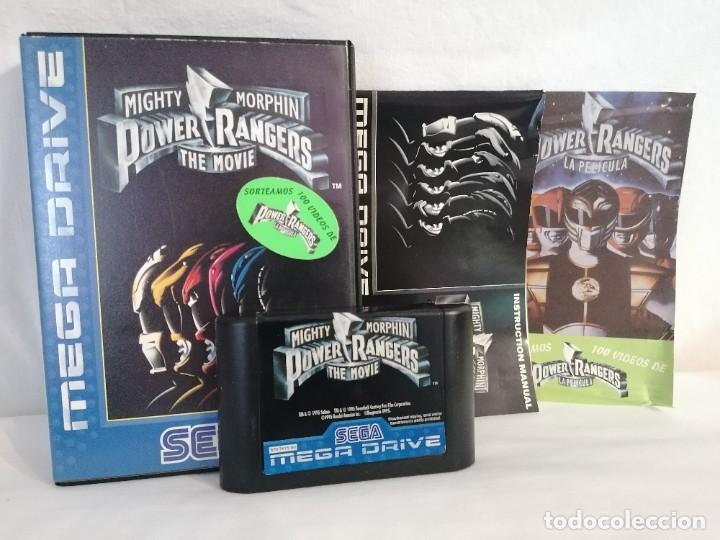 SEGA MEGADRIVE POWER RANGERS (Juguetes - Videojuegos y Consolas - Sega - MegaDrive)