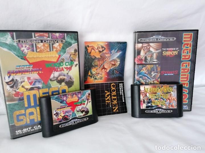 PACK SEGA MEGADRIVE MEGA GAMES (Juguetes - Videojuegos y Consolas - Sega - MegaDrive)
