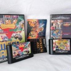 Videojuegos y Consolas: PACK SEGA MEGADRIVE MEGA GAMES. Lote 268901934