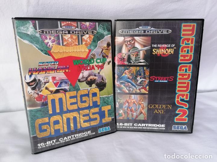 Videojuegos y Consolas: Pack Sega Megadrive Mega Games - Foto 2 - 268901934