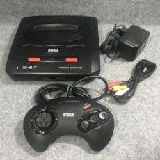 Videojuegos y Consolas: CONSOLA SEGA MEGA DRIVE II+PAD+AV+AC. Lote 269685238
