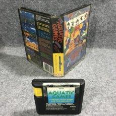 Videojuegos y Consolas: THE AQUATIC GAMES SEGA MEGA DRIVE. Lote 269685373