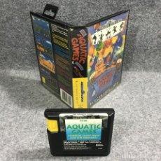 Videojuegos y Consolas: THE AQUATIC GAMES SEGA MEGA DRIVE. Lote 269685403