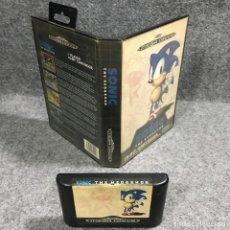 Videojuegos y Consolas: SONIC THE HEDGEHOG SEGA MEGA DRIVE. Lote 269685418