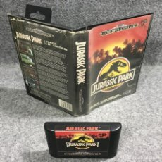Videojuegos y Consolas: JURASSIC PARK SEGA MEGA DRIVE. Lote 269685453