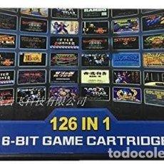Videojuegos y Consolas: JUEGO SEGA MEGADRIVE 126 IN 1 SOLO CARTUCHO. Lote 269752463