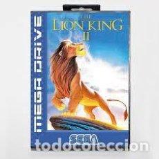 Videojuegos y Consolas: JUEGO SEGA MEGADRIVE THE LION KING. Lote 269753598