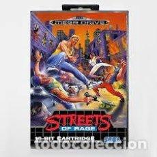Videojuegos y Consolas: JUEGO SEGA MEGADRIVE STREETS OF RAGE. Lote 269753958