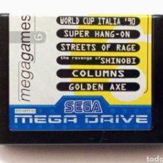 Videojuegos y Consolas: JUEGO PARA SEGA MEGA DRIVE, MEGA GAMES 6. Lote 269816283
