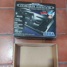 Videojuegos y Consolas: CAJA MEGA DRIVE SEGA MEGADRIVE VER FOTOS. Lote 270184193