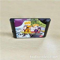 Videojuegos y Consolas: JUEGO SEGA MEGADRIVE DRAGON BALL Z L'APPEL DU DESTIN SOLO CARTUCHO. Lote 270184708