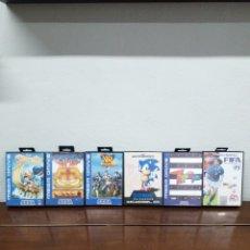 Videojuegos y Consolas: LOTE SEGA MEGA DRIVE 6 JUEGOS. Lote 270633538