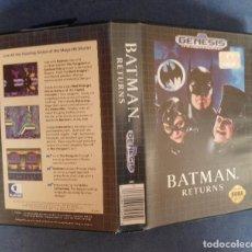 Videogiochi e Consoli: BATMAN RETURNS PARA SEGA GENESIS COMPLETO. Lote 274796513