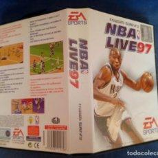 Videojuegos y Consolas: NBA LIVE 97 PARA SEGA MEGA DRIVE COMPLETO. Lote 274798293