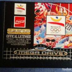 Videojuegos y Consolas: OLYMPIC GOLD BY U.S. GOLD 1988 - SEGA MEGA DRIVE. Lote 274826668
