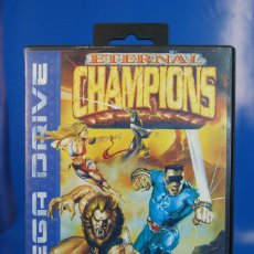 Jeux Vidéo et Consoles: SEGA MEGA DRIVE ETERNAL CHAMPIONS, COMPLETO.. Lote 275058003