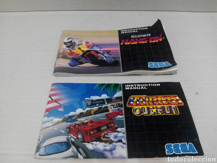 SOLO MANUAL MEGADRIVE SUPER HANG ON. (Juguetes - Videojuegos y Consolas - Sega - MegaDrive)