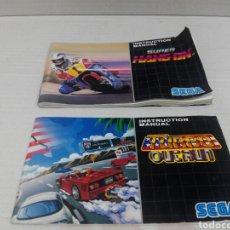 Videojuegos y Consolas: SOLO MANUAL MEGADRIVE SUPER HANG ON.. Lote 275787433
