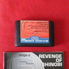 Videojuegos y Consolas: JUEGO MEGA 6 REVENGE OF SHINOBI CON INSTRUCCIONES PARA SEGA MEGADRIVE. Lote 276288188