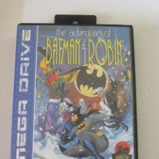 Videogiochi e Consoli: JUEGO SEGA MEGA DRIVE: THE ADVENTURES OF BATMAN & ROBIN. COMPLETO.. Lote 276699018