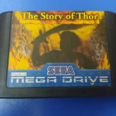 Videojuegos y Consolas: VIDEOJUEGO CARTUCHO MEGA DRIVE MEGADRIVE THE STORY OF THOR. Lote 276716538