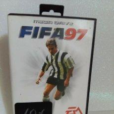 Videojuegos y Consolas: DETALLES DE FIFA 97 MEGADRIVE COMPLETO. Lote 278414868