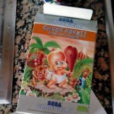 Videojuegos y Consolas: SOLO CAJA JUEGO SEGA GAME GEAR CHUCH ROCK II SON OF CHUCK. Lote 278572038
