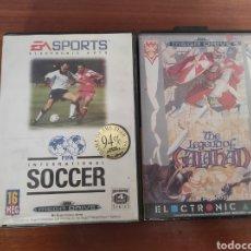 Videojuegos y Consolas: CAJAS JUEGOS SEGA MEGADRIVE. Lote 278668128