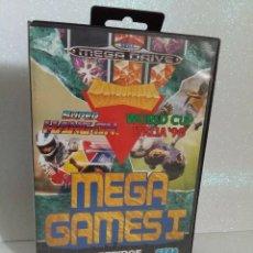 Videojuegos y Consolas: MEGA GAMES 1 MEGADRIVE SIN INSTRUCCIONES. Lote 279384083
